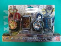 Masked Rider Gaim - DX Gold & Silver Ringo Lock Seed Masked Rider Mars & Kamuro Set
