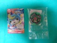 Yokai Watch Suikanyan Z Medal & Bushinyan Card