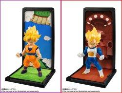 Photo4: TAMASHII BUDDIES Dragon Ball Z Son Goku Vegeta Trunks Piccolo Set