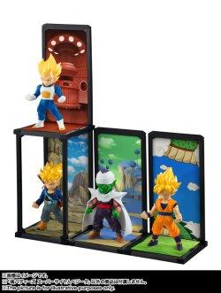 Photo1: TAMASHII BUDDIES Dragon Ball Z Son Goku Vegeta Trunks Piccolo Set