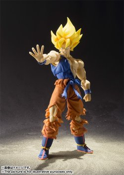 Photo1: S.H.Figuarts Super Saiyan Son Gokou Super Warrior Awakening Ver. 『November release』