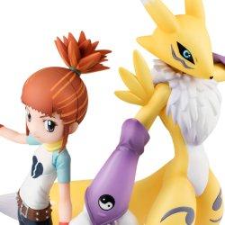 Photo1: G.E.M.Series Digimon Tamers Renamon & Nanoka Rika 『October release』