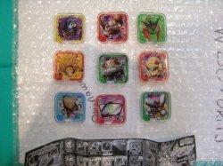 "Photo1: Digimon Universe Appli Monsters APPMON Chip Ver.1.0 GP ""Set of 9 Chips"" 『QR code REGISTERED』"