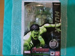 Photo1: Avengers : Age of Ultron - S.H.Figuarts Hulk