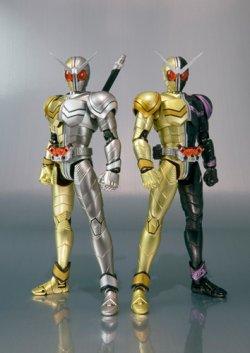 Photo1: S.H.Figuarts Kamen Rider W Luna Metal & Luna Joker Set